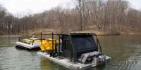 Amfibik Petrol dökülme müdahale Aracı