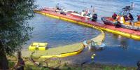 Nehir yada akıntı tipi Savaklı sıyırıcı skimmer petrol dökülmelerine müdahale çevre ekipmanları