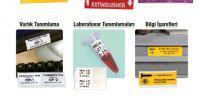Endüstriyel yazıcı, tehlike uyarı ve bilgi işaretleri