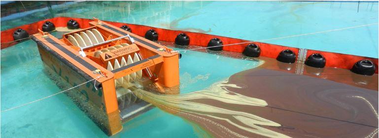 X 150 Sıyırıcı sistemi skimmer hidrokarbon sıyırıcı petrol dökülmelerine müdahale çevre ekipmanları elastec